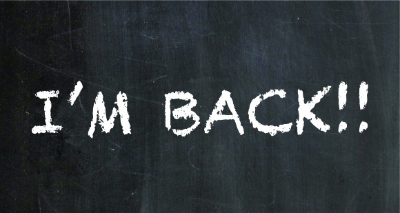 I'M BACK ♥